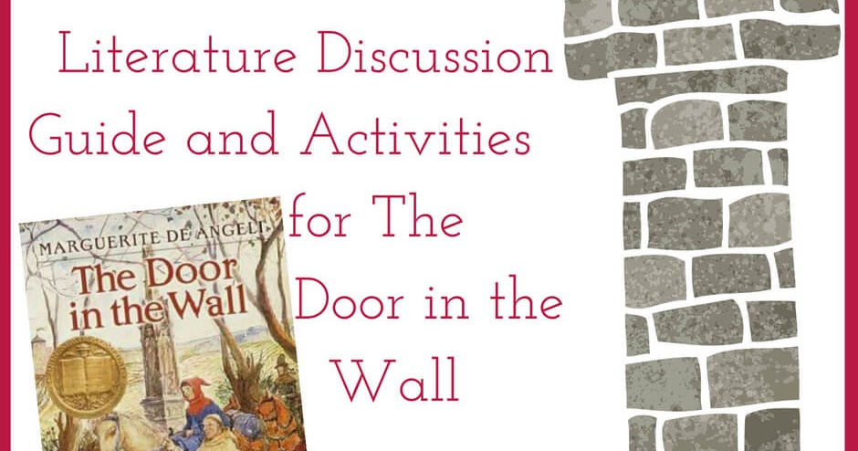 Literature Discussion Guide And Activities For The Door In