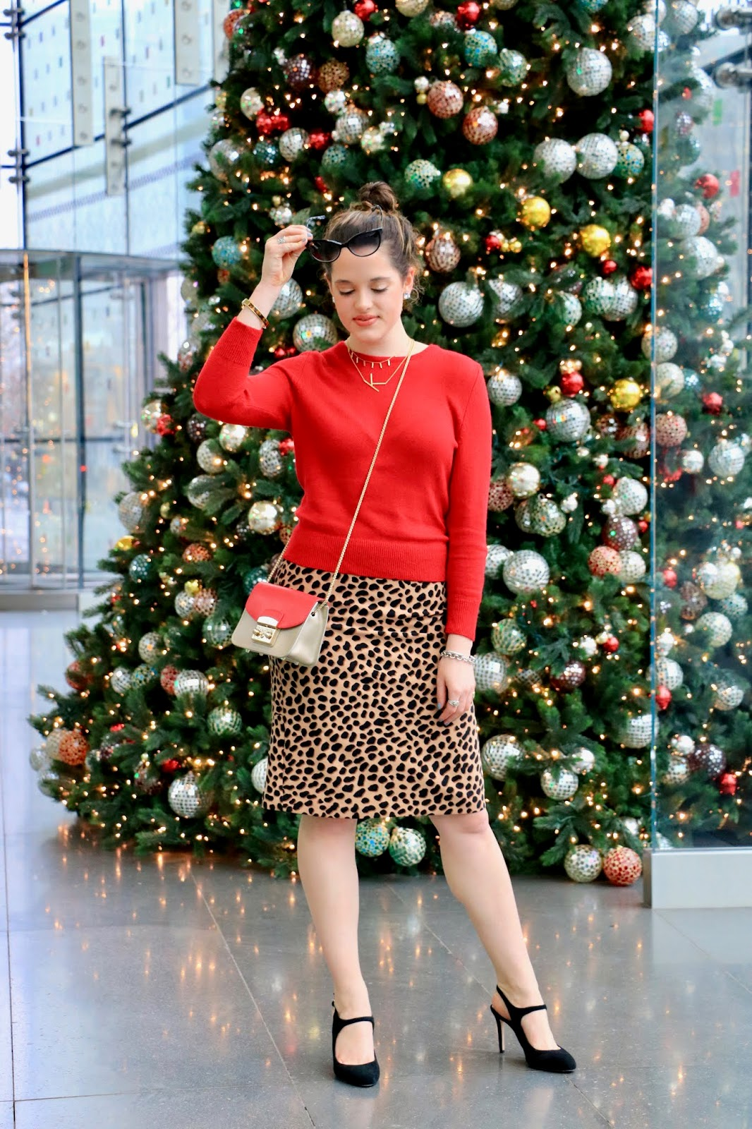 Nyc fashion blogger Kathleen Harper's holiday party outfit ideas