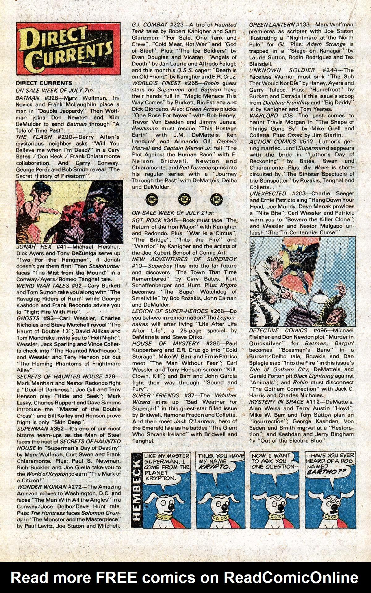 Read online World's Finest Comics comic -  Issue #265 - 34