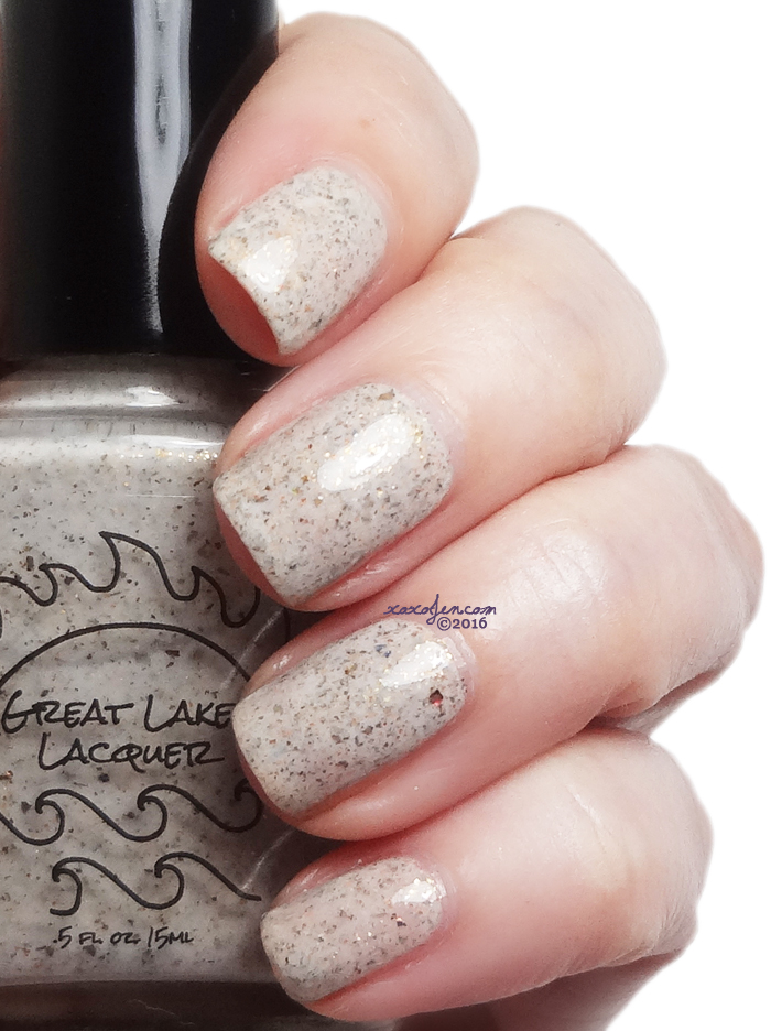 xoxoJen's swatch of Great Lakes Lacquer There's Garlic In His Soul