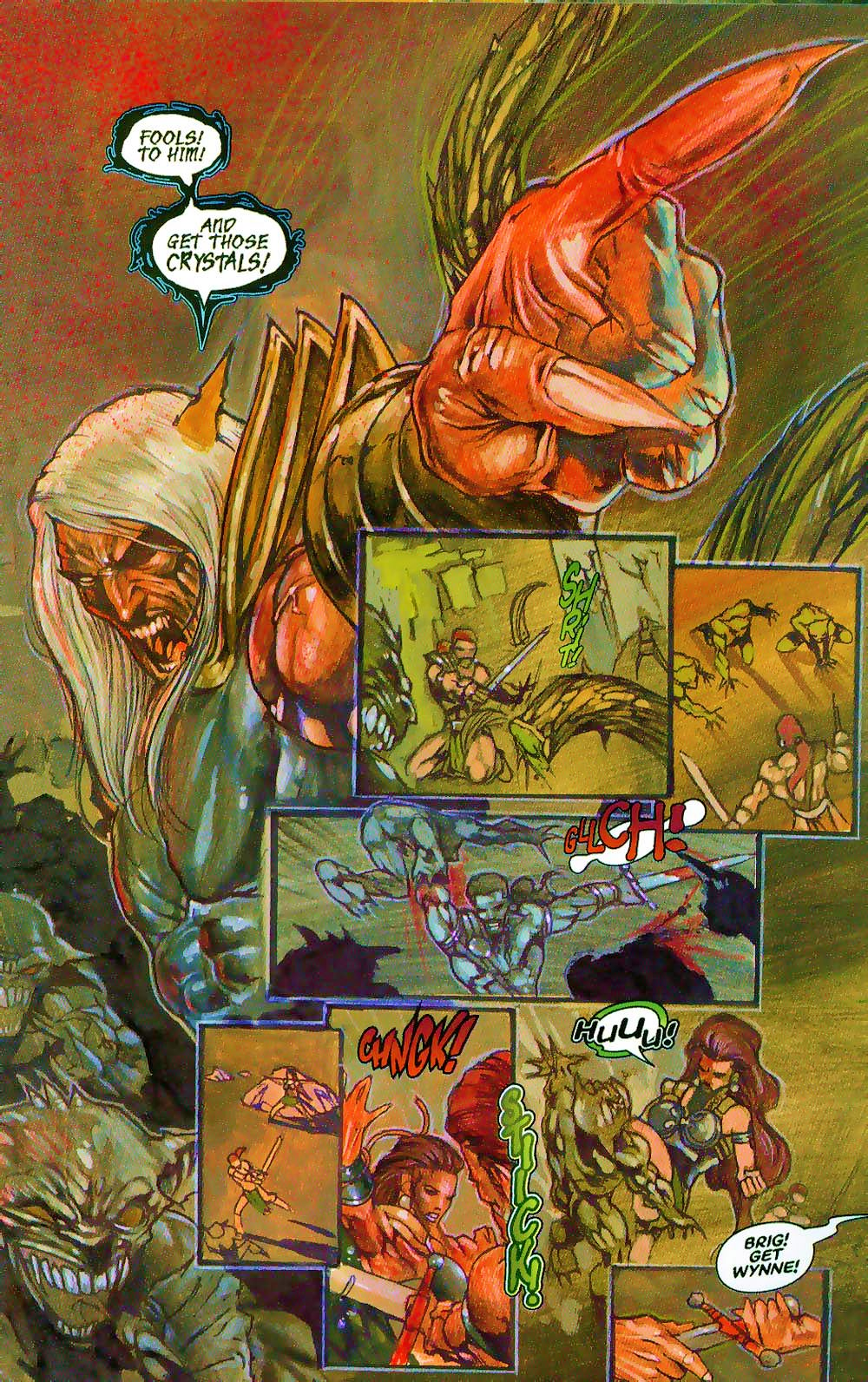 More Than Mortal: Sagas issue 3 - Page 11