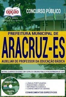 Baixar Apostila Prefeitura de Aracruz 2019 PDF Download