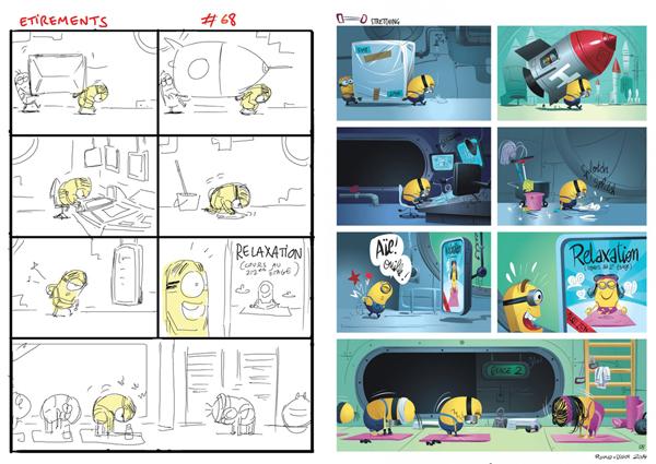 Didier AhKoon  Story Artist Comic Book
