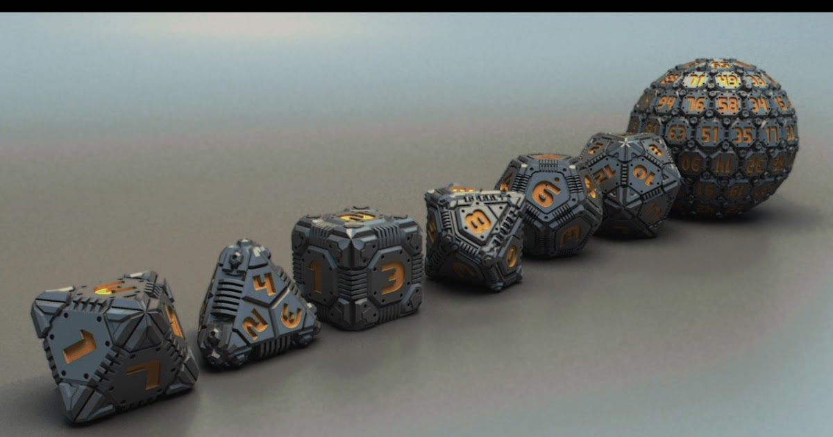 Coolhand Tech Dice
