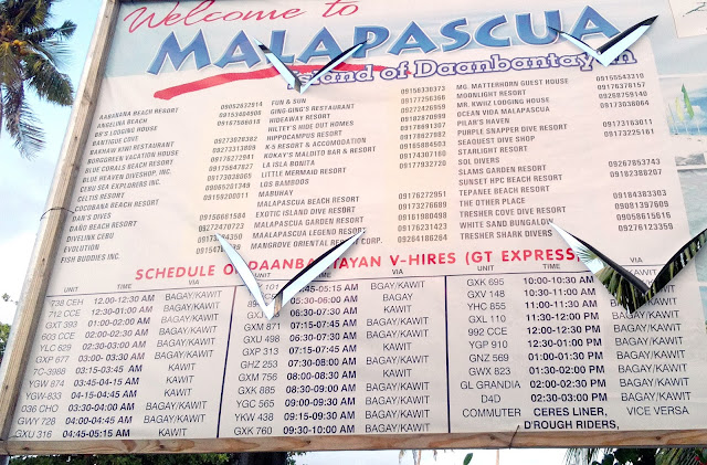 malapascua accommodation contact numbers