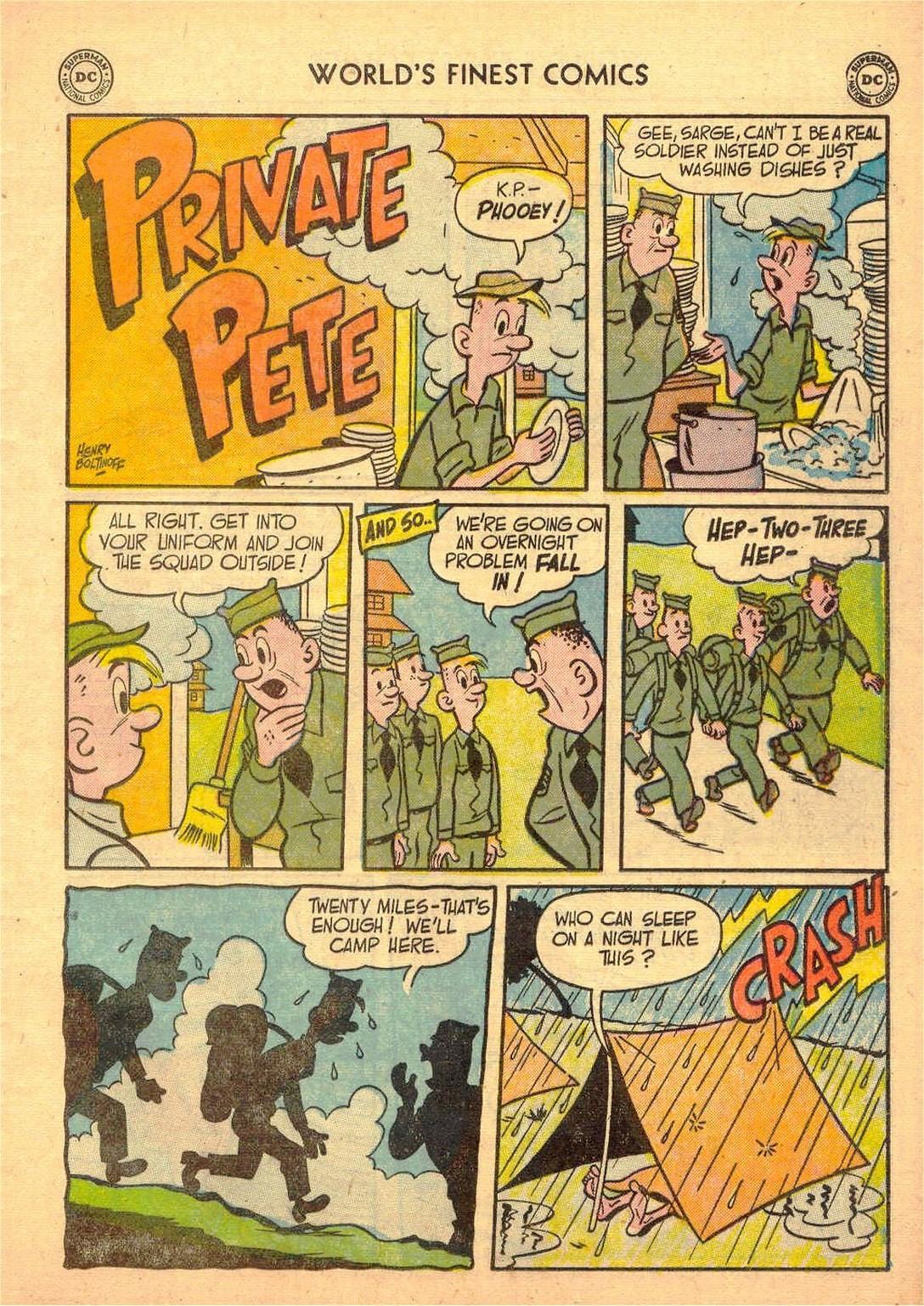 Read online World's Finest Comics comic -  Issue #58 - 49