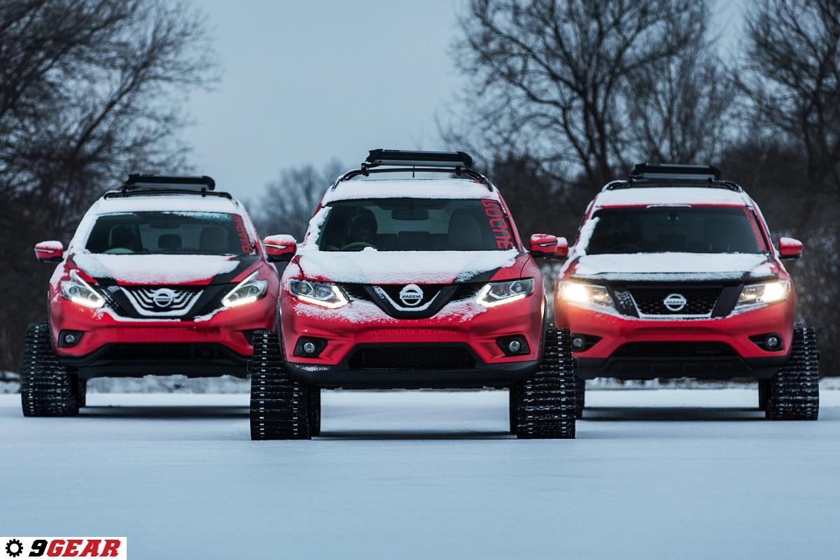 Nissan Unleashes Trio Of Quot Winter Warrior Quot Concepts Car