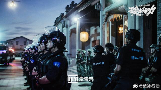 The Thunder Chinese action drama
