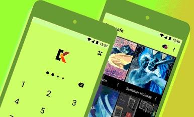 لإخفاء الصور ومقاطع الفيديو على Android