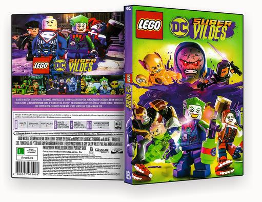 CAPA DVD – Lego DC Super Vilões – ISO