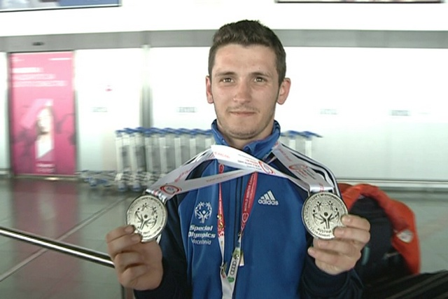 Sensation bei Special Olympics: Trajkovski holt Silber im Super G