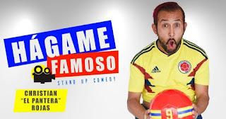 """Hagame famoso   Stand Up Comedy por """"El Pantera Rojas"""""""