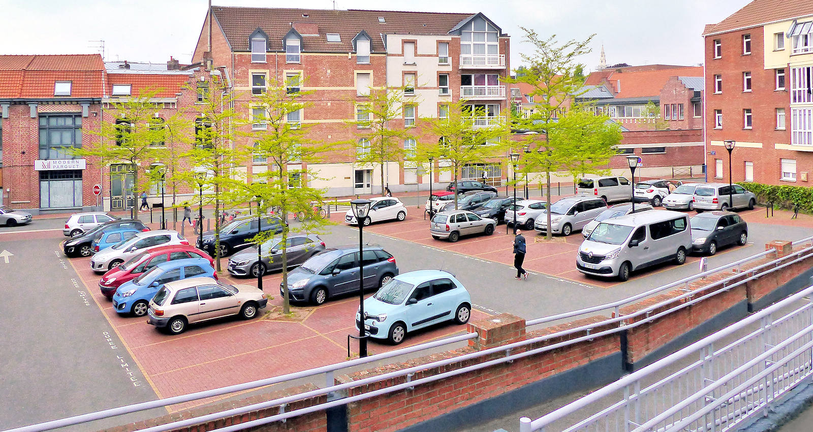 Parking Tourcoing - Rue des Anges, Tourcoing centre