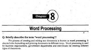 1st Year Computer Chapter 8 Long Questions pdf - ICS part 1