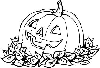 transmissionpress: Pumpkin Face Coloring Pages