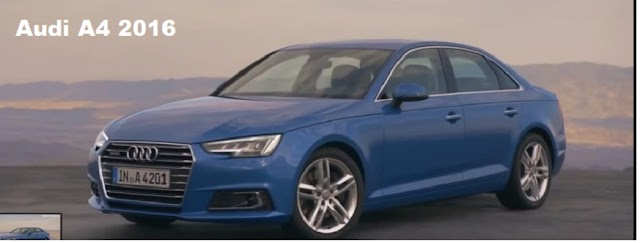 The all new refined Audi A4 2016 - video review
