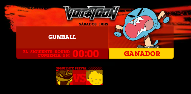 Votatoon de la Semana - Gumball