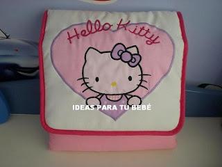 cambiador hello kitty