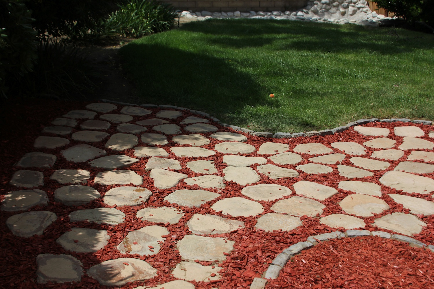 Backyard Ideas To Cover Dirt This Is The Crosby