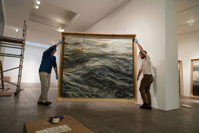 Amazing work, The Wave Paintings