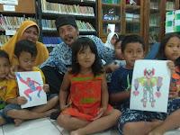Guru SMP Negeri 17 Semarang Bawa Indonesia Juara Kartun di Korea