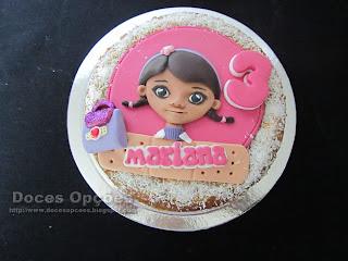 A Doutora Brinquedos no 3º aniversário da Mariana