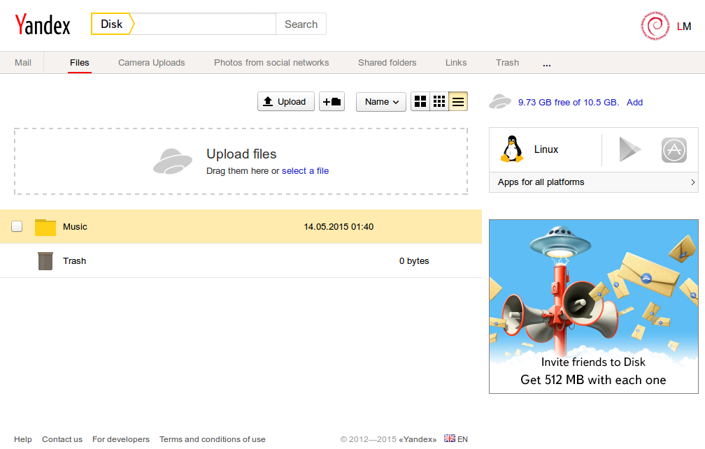 Yandex Disk - free and useful cloud storage service | Steemhunt