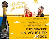 Logo Maximilian ''Parti con gli amici'': vinci gratis voucher Volagratis da 1.000€