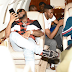 Davido brags about his expensive red buttom shoes (Photos)
