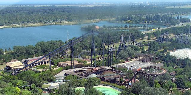 katun attraction, mirabilandia theme park in Ravenna, Italy