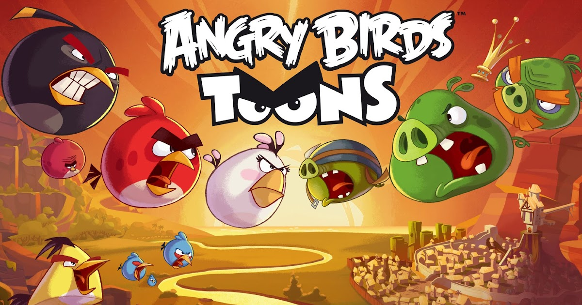 Nickalive Quot Angry Birds Toons Quot To Fly Onto Nickelodeon