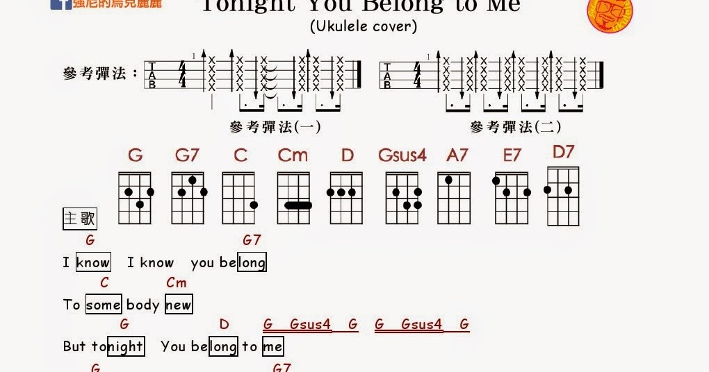 You Belong With Me Chords