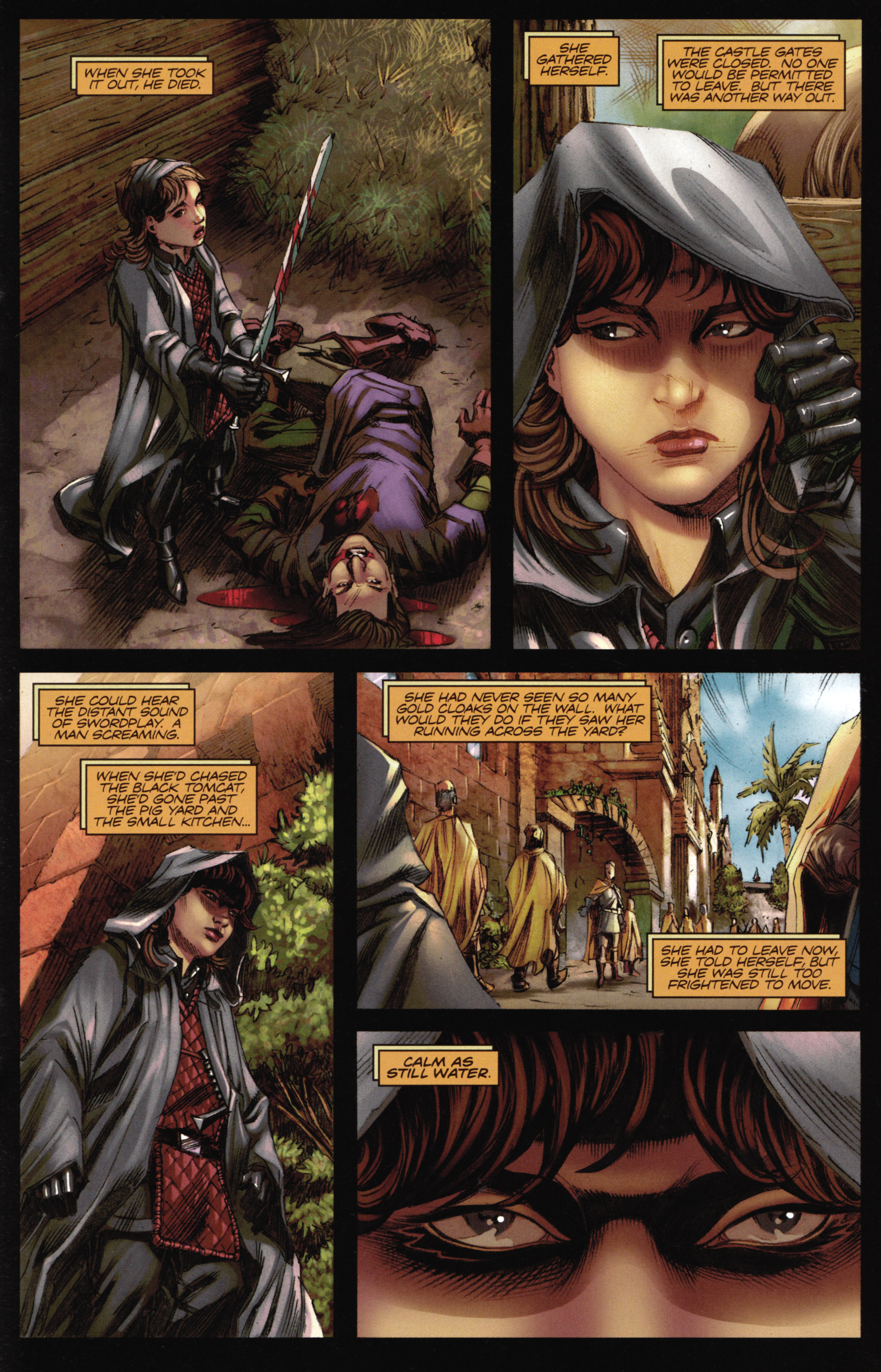 Read online A Game Of Thrones comic -  Issue #16 - 23