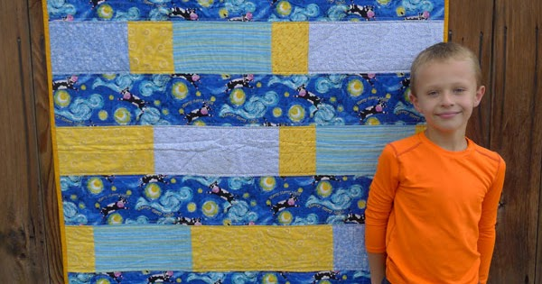 Pieces By Polly Scrappy Strip Quilt Quilts Kids Can Make