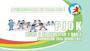 Pemetaan KD PJOK Kelas 1 SD Kurikulum 2013 Revisi 2017