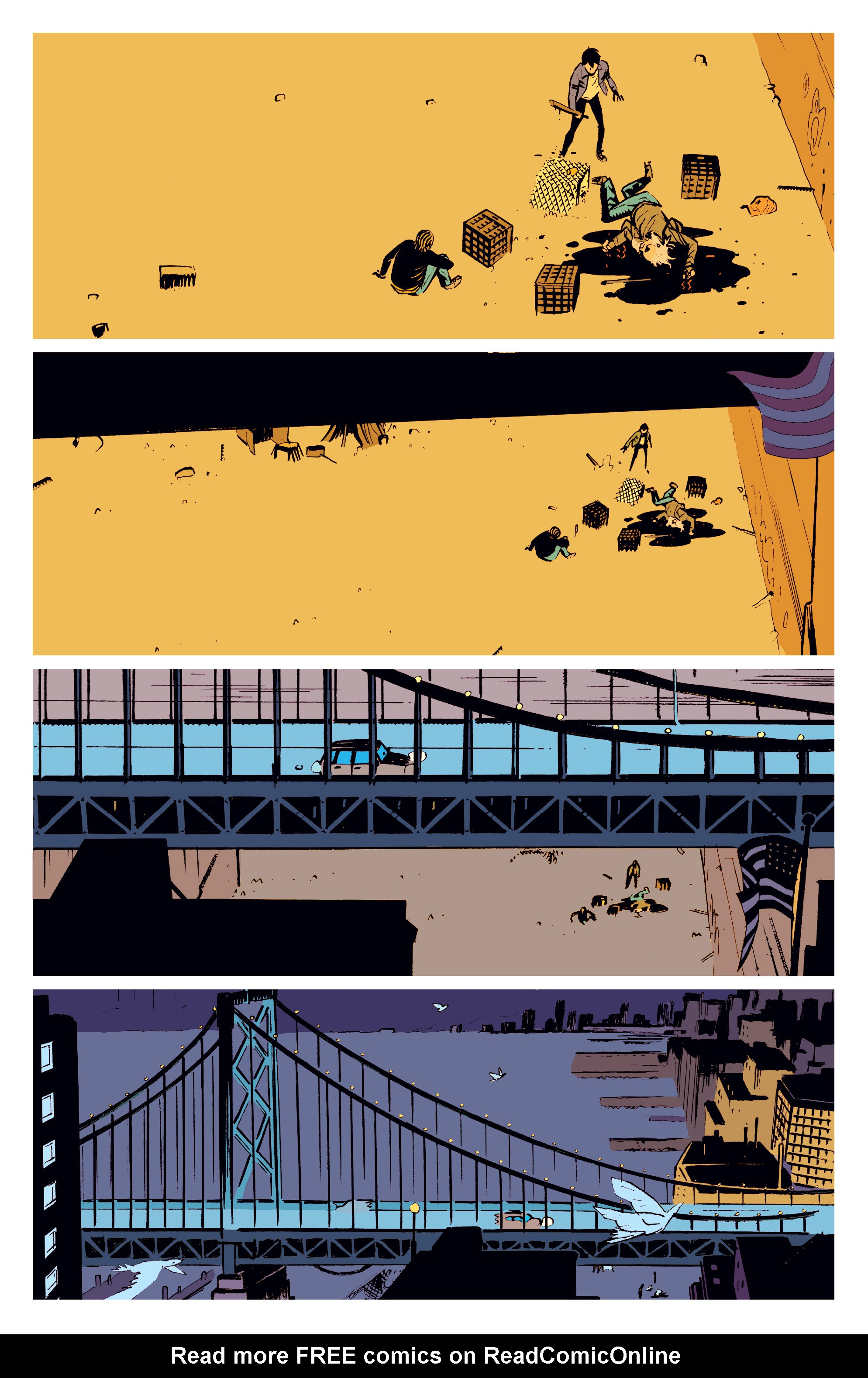 Read online Deadly Class comic -  Issue #3 - 23