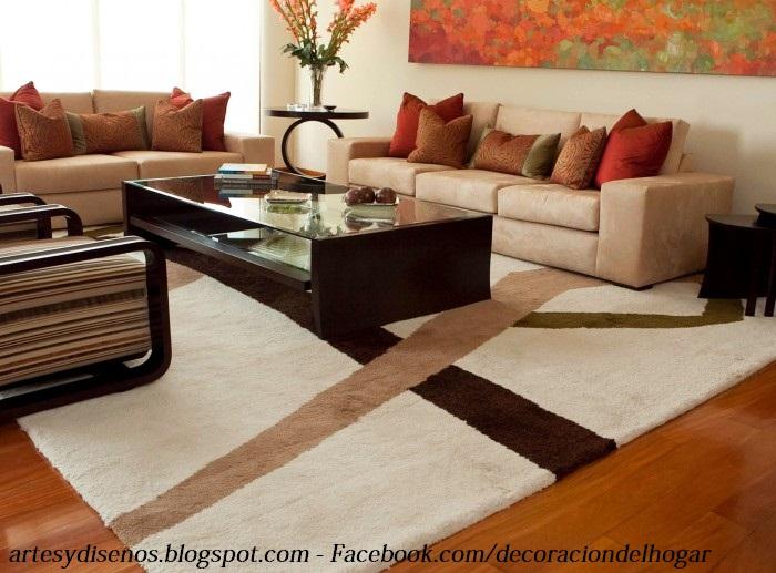 Alfombras para decorar salas : decoración del hogar, diseño de ...