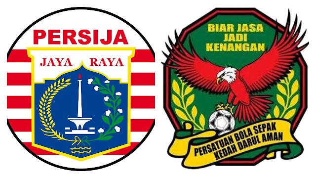 Live Streaming Persija Jakarta vs Kedah Piala Suramandu 9.1.2018