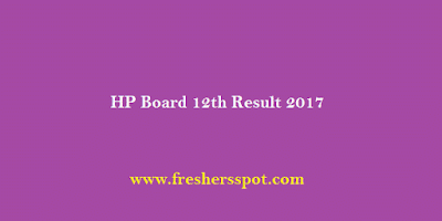 HP Board 12th Result 2017 Released