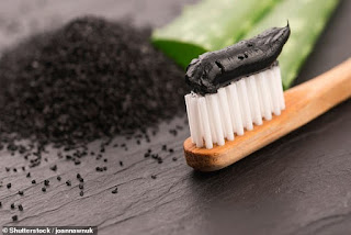Charcoal-based toothpastes do NOT whiten teeth and may lead to tooth decay