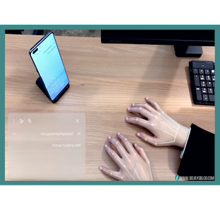 Samsung reveals new Invisible Keyboard