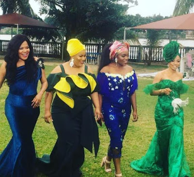 wp 1504207333422 - ENTERTAINMENT: Toke Makinwa Slays In Stunning Photos With Toyin Aimakhu, Bisola and Chigurl