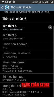 Unlocked và tiếng Việt note 2 I317 4.4.2 alt