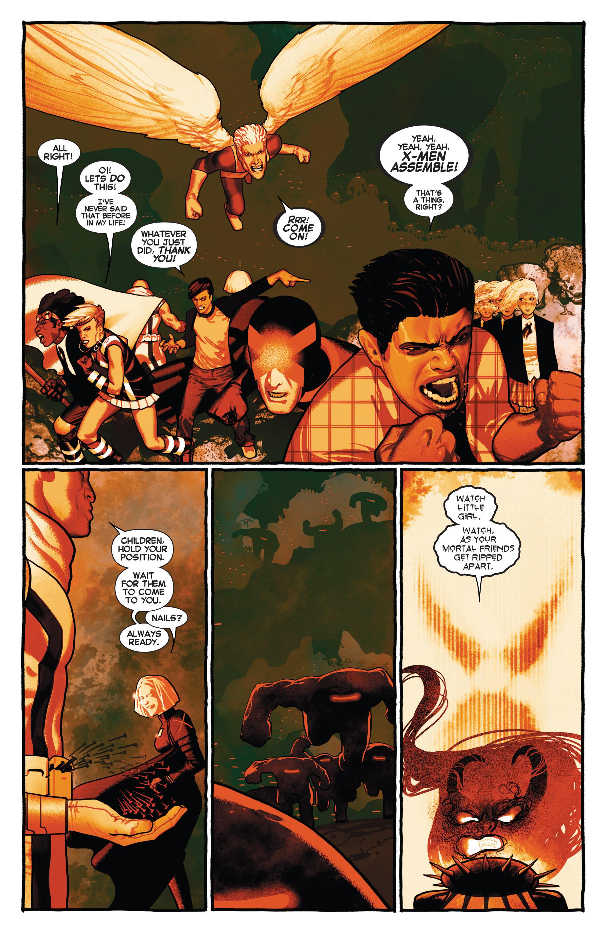 Read online Uncanny X-Men (2013) comic -  Issue # _TPB 2 - Broken - 17