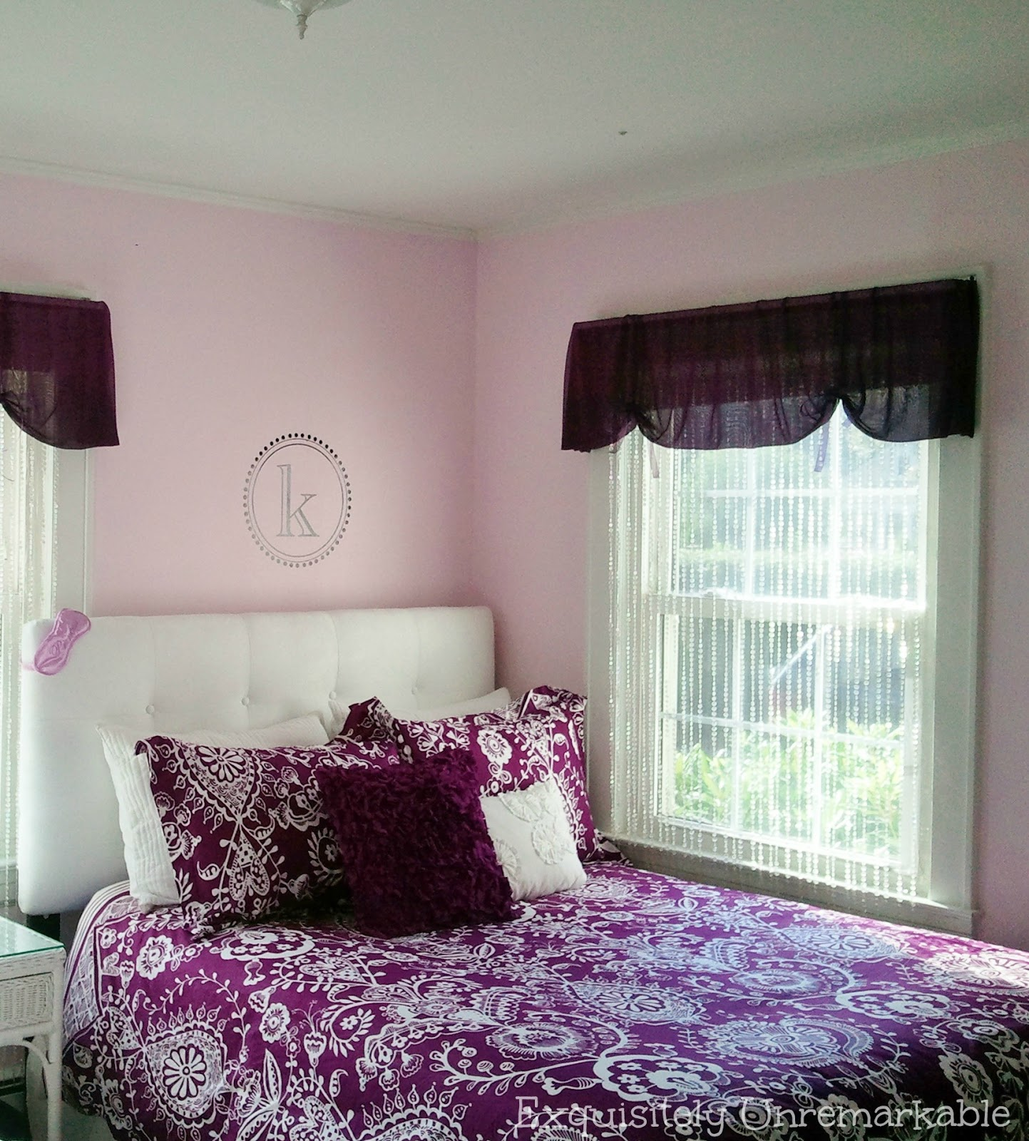 Pretty in Purple ~ Teen Bedroom |Exquisitely Unremarkable
