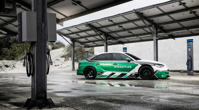 Schaeffler debut 880 kW AWD Concept Electric Audi RS3