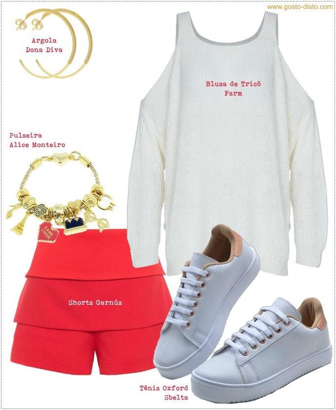 Looks descolados com tênis branco para o fim de semana