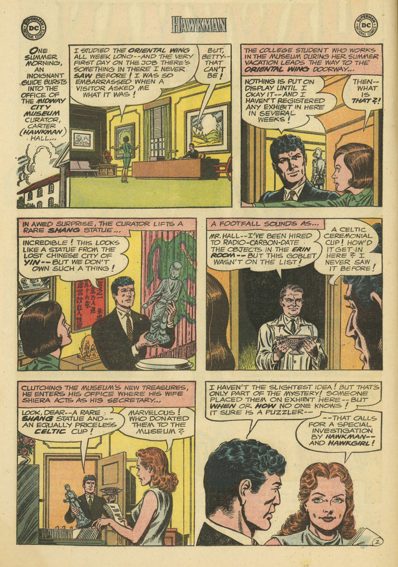 Hawkman (1964) issue 4 - Page 4