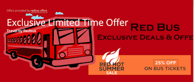 Redbus Offer