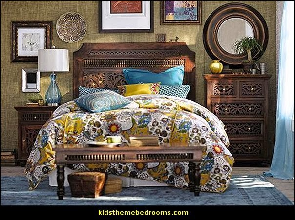 Decorating theme bedrooms  Maries Manor exotic bedroom